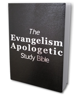 The Evangelism Apologetic Study Bible (Bonded-leather edition)